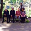 """Beneficiaries of the """"Home for the Elderly"""" in the Dendrological Park"""