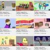 """ოზურგეთის """"ლიდერთა სკოლის"""" მოსწავლეების მიერ მომზადებული ანიმაციური რგოლები"""